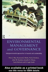 Ebook in inglese Environmental Management and Governance -, -