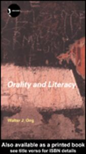 Ebook in inglese Orality and Literacy Ong, Walter J.