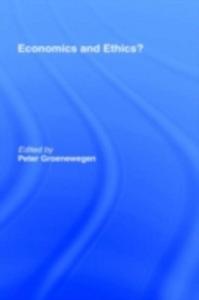 Ebook in inglese Economics and Ethics? -, -