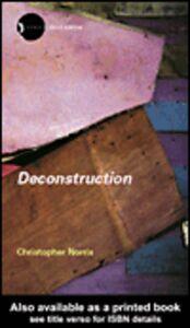 Ebook in inglese Deconstruction Norris, Christopher