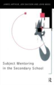 Foto Cover di Subject Mentoring in the Secondary School, Ebook inglese di AA.VV edito da Taylor and Francis
