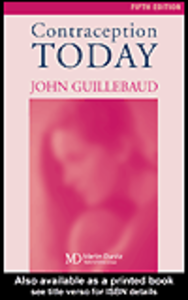 Ebook in inglese Contraception Today Guillebaud, John