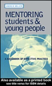 Foto Cover di Mentoring Students and Young People, Ebook inglese di Andrew Miller, edito da