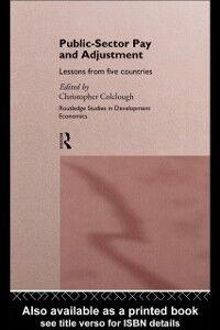 Foto Cover di Public Sector Pay and Adjustment, Ebook inglese di Christopher Colclough, edito da Taylor and Francis