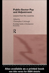 Ebook in inglese Public Sector Pay and Adjustment Colclough, Christopher