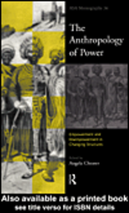 Ebook in inglese The Anthropology of Power
