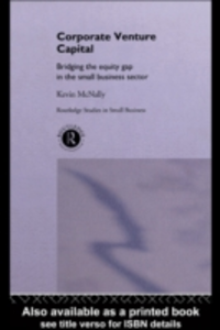 Ebook in inglese Corporate Venture Capital McNally, Kevin