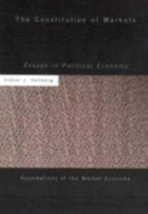 Ebook in inglese Constitution of Markets Vanberg, Viktor J