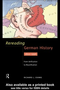 Ebook in inglese Rereading German History Evans, Richard