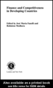 Ebook in inglese Finance and Competitiveness in Developing Countries