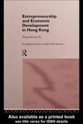 Entrepreneurship and Economic Development in Hong Kong