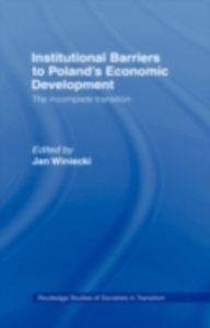 Ebook in inglese Institutional Barriers to Economic Development -, -