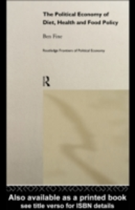 Ebook in inglese Political Economy of Diet, Health and Food Policy Fine, Ben