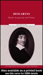 Foto Cover di Descartes, Ebook inglese di Richard Davies, edito da