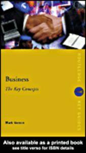 Ebook in inglese Business Vernon, Mark