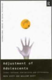 Adjustment of Adolescents