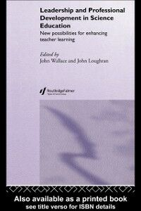 Ebook in inglese Leadership and Professional Development in Science Education