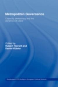 Ebook in inglese Metropolitan Governance in the 21st Century Heinelt, Hubert , Kubler, Daniel