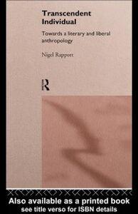 Ebook in inglese Transcendent Individual Rapport, Nigel