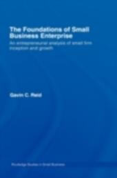 Foundations of Small Business Enterprise