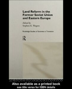 Ebook in inglese Land Reform in the Former Soviet Union and Eastern Europe -, -