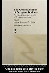 Ebook in inglese Americanisation of European Business -, -