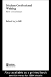 Ebook in inglese Modern Confessional Writing -, -