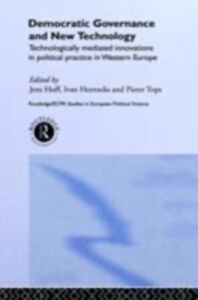 Ebook in inglese Democratic Governance and New Technology