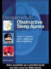 Management of Obstructive Sleep Apnea