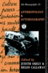 Ebook in inglese Anthropology and Autobiography -, -