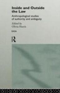 Foto Cover di Inside and Outside the Law, Ebook inglese di  edito da Taylor and Francis