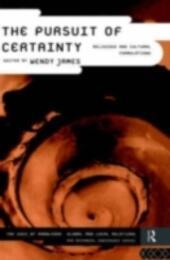 Pursuit of Certainty
