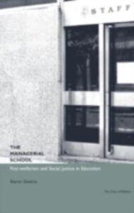 Foto Cover di Managerial School, Ebook inglese di Sharon Gewirtz, edito da Taylor and Francis
