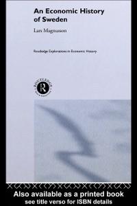 Ebook in inglese Economic History of Sweden MAGNUSSON, LARS