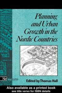 Ebook in inglese Planning and Urban Growth in Nordic Countries Hall, Thomas