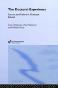 Ebook in inglese Doctoral Experience Atkinson, Paul , Delamont, Sara , Parry*****Nfa******, Odette , Parry, Odette
