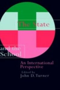 Ebook in inglese State And The School