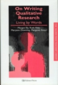 Ebook in inglese On Writing Qualitative Research Anzul, Margaret , Downing, Maryann , Ely, Margot , Vinz, Ruth