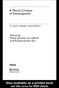 Ebook in inglese Moral Critique of Development -, -
