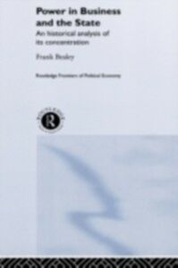 Foto Cover di Power in Business and the State, Ebook inglese di Frank Bealey, edito da Taylor and Francis