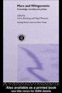 Foto Cover di Marx and Wittgenstein, Ebook inglese di  edito da Taylor and Francis