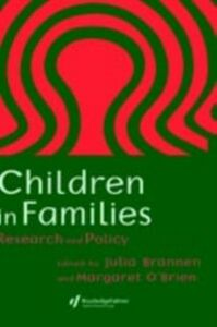 Ebook in inglese Children In Families