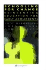 Foto Cover di Schooling for Change, Ebook inglese di AA.VV edito da Taylor and Francis