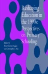 Reshaping Education In The 1990s