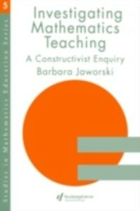 Foto Cover di Investigating Mathematics Teaching, Ebook inglese di Barbara Jaworski, edito da Taylor and Francis