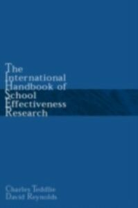 Ebook in inglese International Handbook of School Effectiveness Research -, -