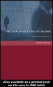 Ebook in inglese The Employment Relationship Herriot, Peter