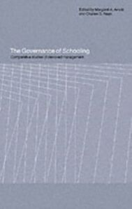 Ebook in inglese Governance of Schooling