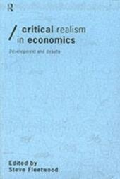 Critical Realism in Economics