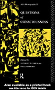 Ebook in inglese Questions of Consciousness